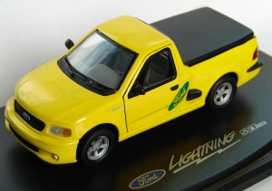 Ford F150 SVT Lightining yellow