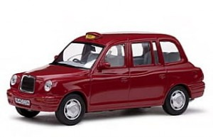 TX1 London TAXI Cab 1998 red