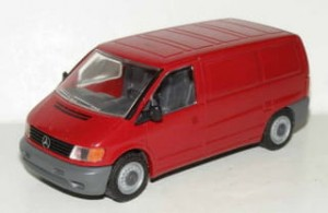Mercedes-Benz Vito Kastenwagen red