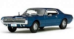 Mercury Cougar 1967 blue